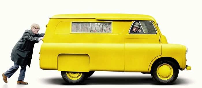 the_lady_in_the_van_yellow_van