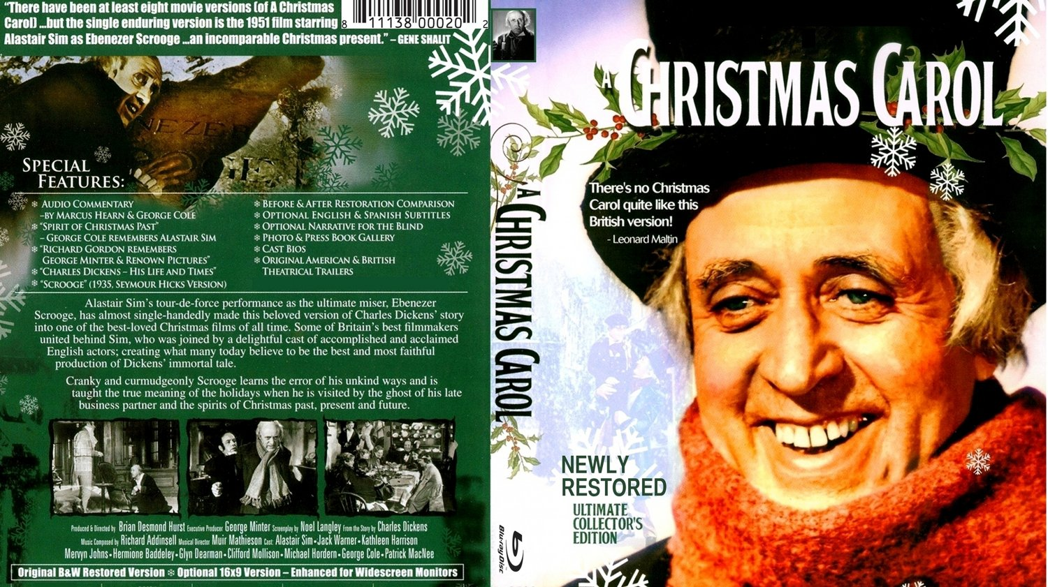 Movie Review: A CHRISTMAS CAROL, 1951 | Festival Reviews