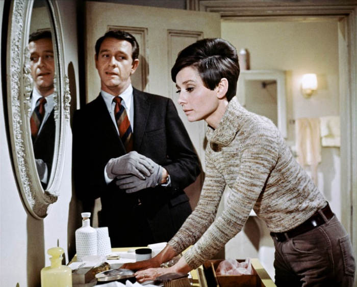 Audrey Hepburn, Wait until dark (1967) starring Alan Arkin and Richard Crenna
