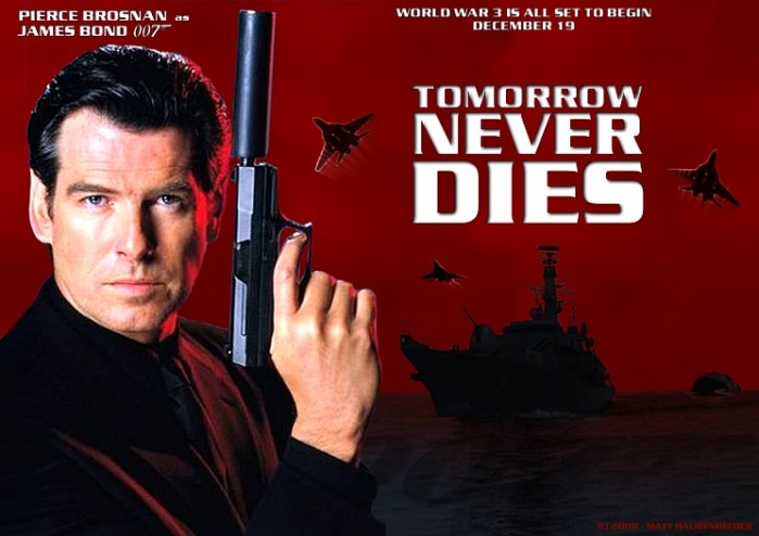 TOMORROW NEVER DIES, 1997